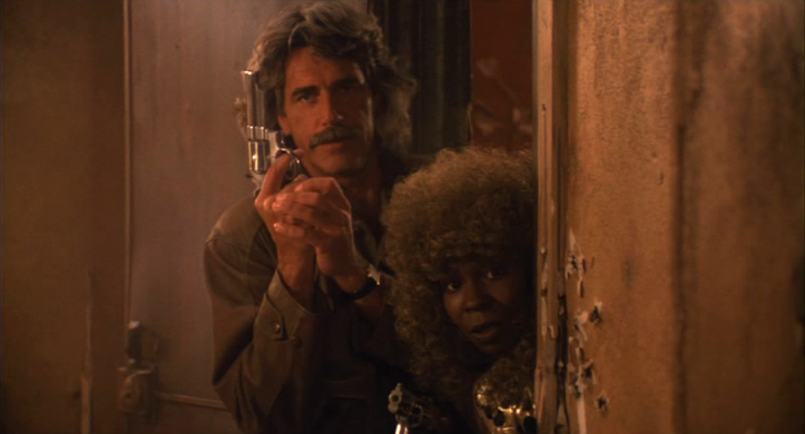Tell me you ever expected to see a movie starring Whoopi Goldberg and Sam Elliott and I will call you a LIAR.